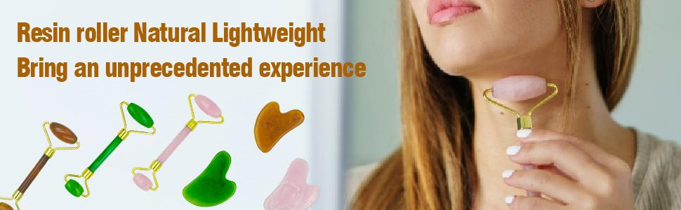 Face Roller & Gua Sha,Facial Beauty Roller Skin Care Tool