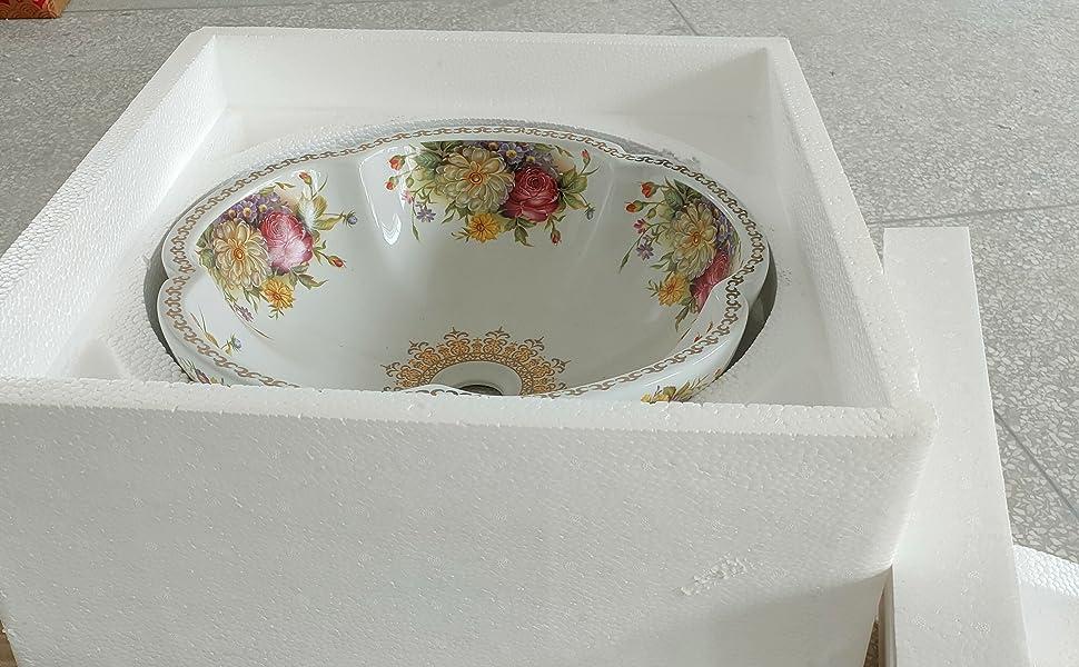 above counter ceramic vessel sinks