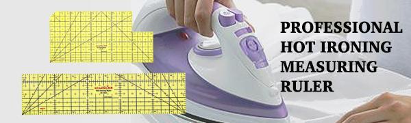 PROFESSIONAL HOT IRONING MEASURING RULER