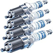 Bosch Iridium, Platinum, and Copper Spark Plugs