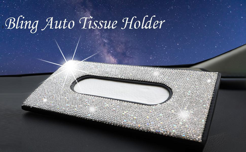 bling car tissue holder