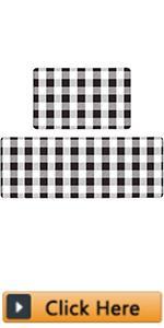 Kitchen Mats Anti Fatigue 2 Piece Waterproof Kitchen Rugs and Mats Comfort Standing Mat