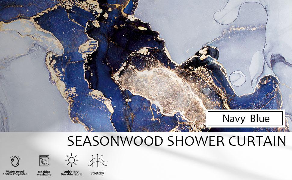 seasonwood shower curtain