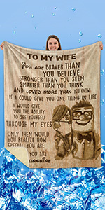 TO WIFE BLANKET