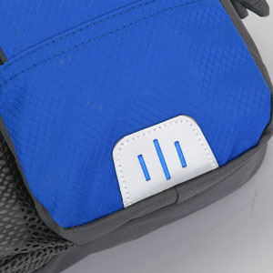 hiking fanny packs with reflective strip
