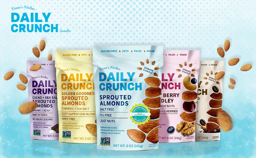 Daily crunch snacks