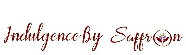 Logo Indulgence by Saffron