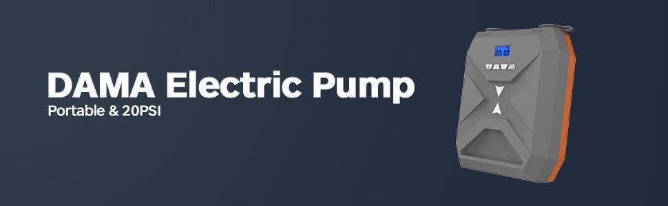 sup electric pump, sup pump electric portable,electric pump, 20psi sup electric air pump