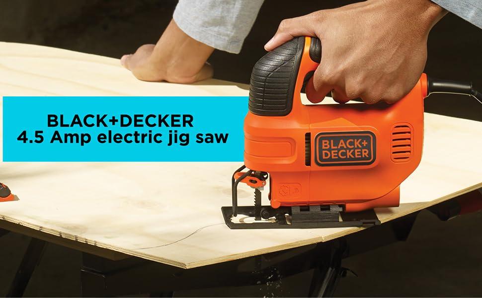 BLACK+DECKER 4.5 Amp Electric Jig Saw (BDEJS300C)