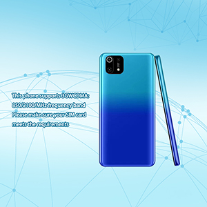 This phone only supports the SIM card frequency band of 3GWCDMA (850/2100MHZ),