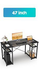 47 Oak Computer Desk