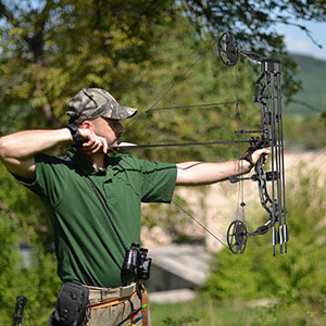 70 Lbs Pro Compound Bow Kit