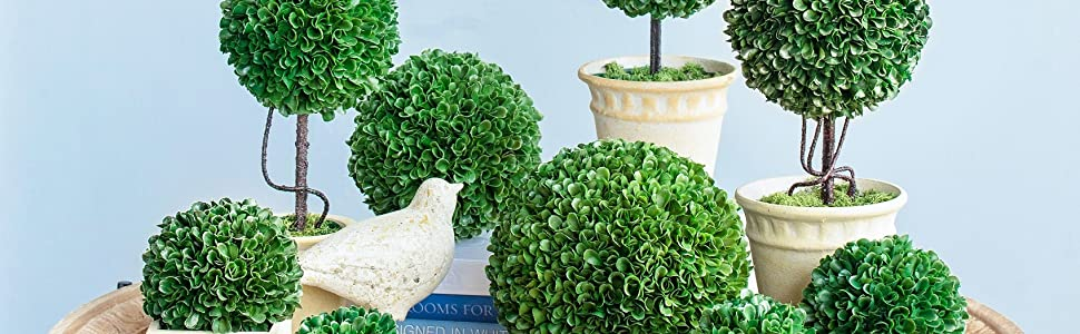 faux florals, fake flowers, faux tree, boxwood