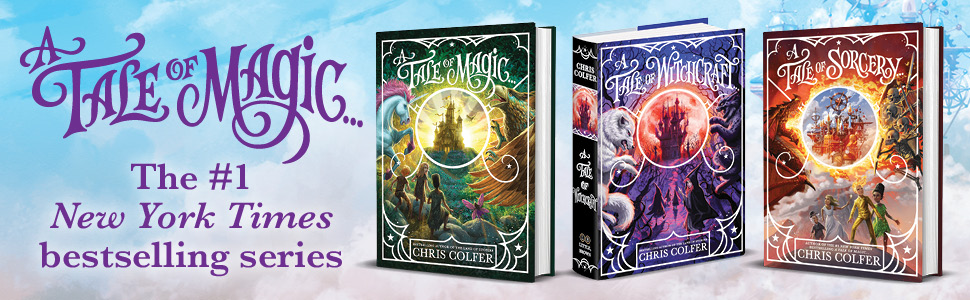 A TALE OF MAGIC... The #1 New York Times bestselling series [image of the 3 book covers in series]