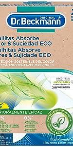 Dr. Beckmann Eco anti-afkleurende doeken, 24 stuks, 33 g