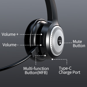 EASY TO CONTROLS TRUCKER HEADSET