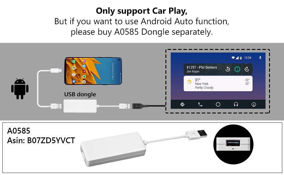 apple carplay a0585 wifi 4g dongle