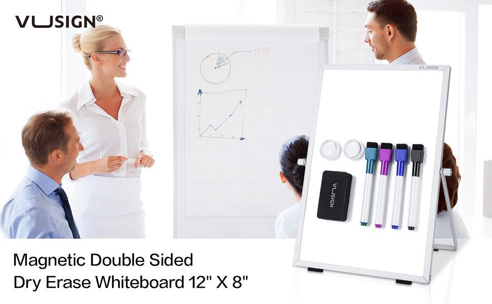 """Dry Erase White Board for Desk 12"""" X 8"""""""