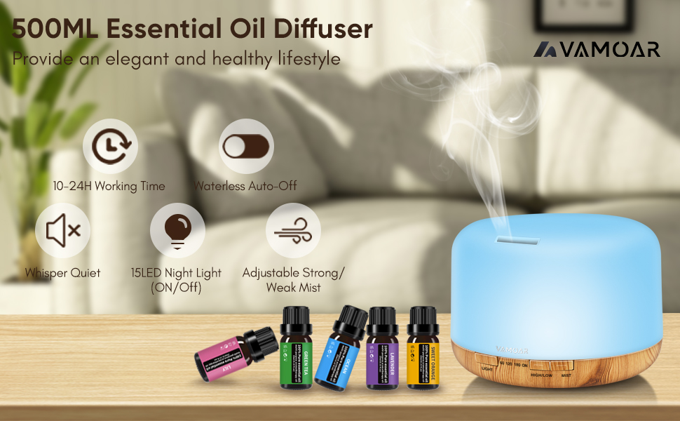 diffuser with essential oils included oil diffuser essential oils large roomessential oil diffuser