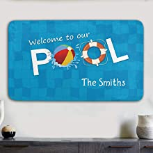 Welcome to our pool Signs