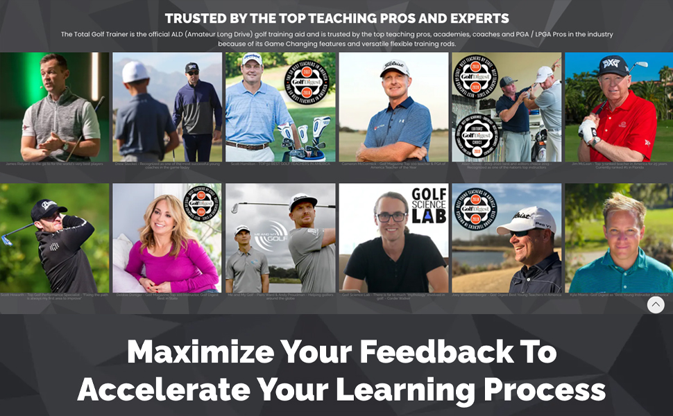 TRUSTED BY TOP TEACHING PROS