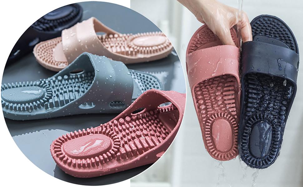 massage shower slippers