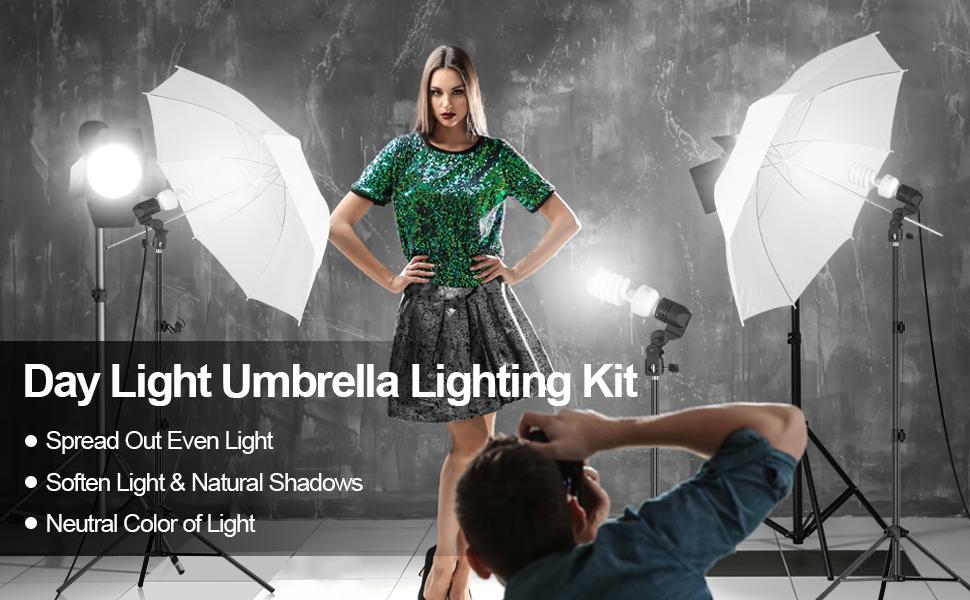 photo shoot light kit