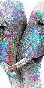 elephant wall decor