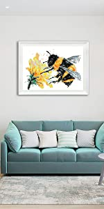 Oil Painting - Bee