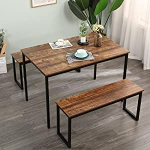 bar table with 2 stools