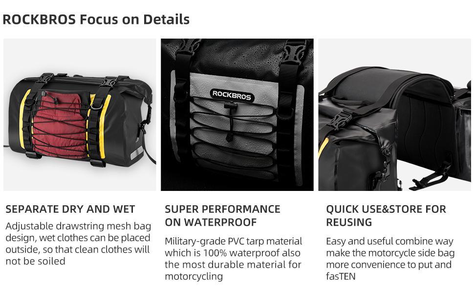 bag motor motorcycle panniers motorcycle luggage bags waterproof