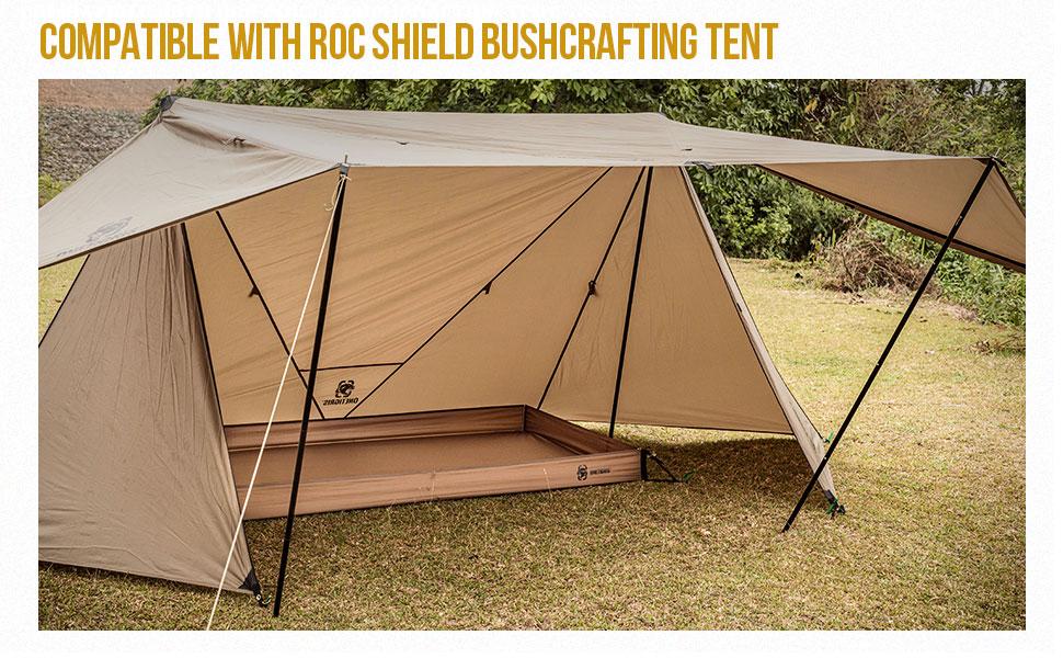 Tent Bathtub Floor