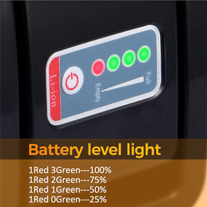 battery level light
