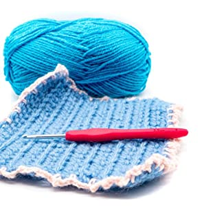 Colorful Handle Crochet Hooks