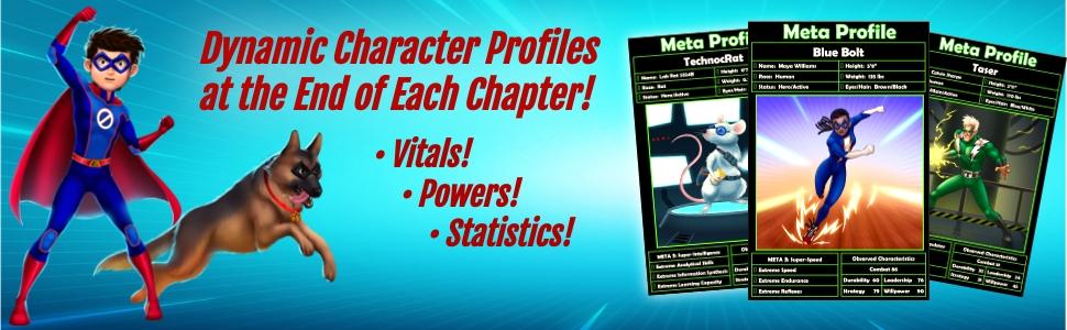 Epic Zero Character Profiles Banner
