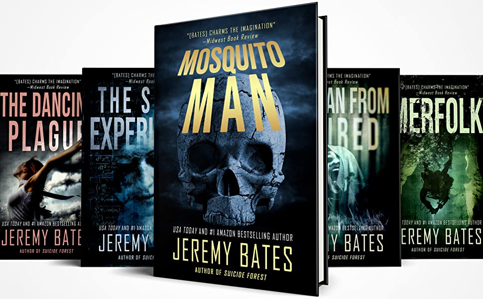Jeremy Bates's Bestselling World's Scariest Legends Series