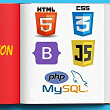 HTML, CSS, Bootstrap, JavaScript, PHP, and MySQL
