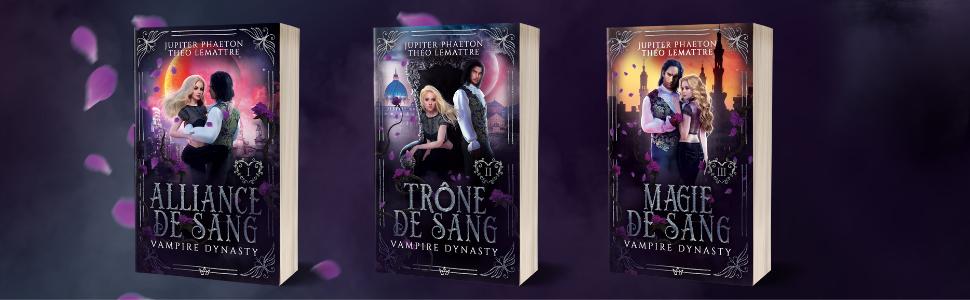 Livres Vampire Dynasty romance fantasy