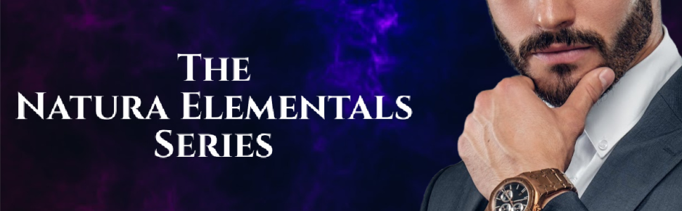 Supernatural mafia man in suit, The Natura Elementals Series