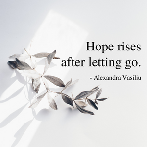 Poem about hope from Healing Words by Alexandra Vasiliu