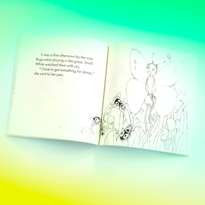 butterfly book, coloring book, kids coloring book, coloring book for children, frog book, toddler