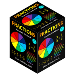 Picture of a box formed from the fractions book cover