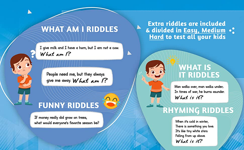 questions and answers for kids, math riddles for smart kids, hard riddles, fun kids books