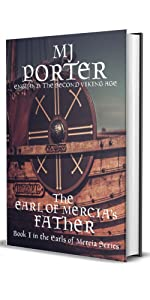 The Earl of Mercia's Father cover showing a shield on a ship