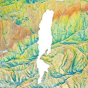 Dead sea map