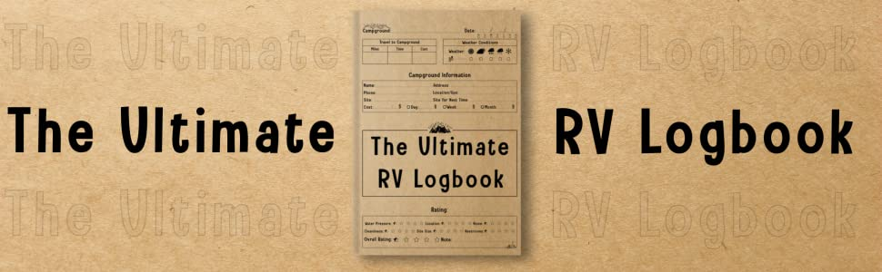 The Ultimate RV Logbook