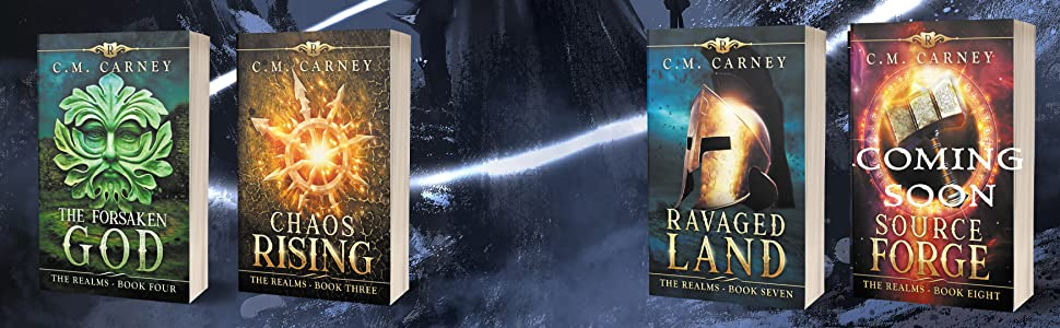 The Realms Barrow King LitRPG GameLit CM Carney