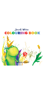 coloring book, toddler book, kids book, frog book, children's book