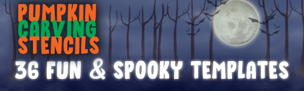 pumpkin carving stencils 36 fun and spooky templates