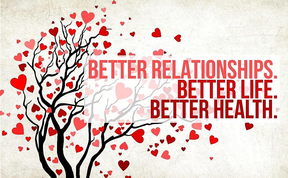 Better Relationships; Better Life; Better Health;
